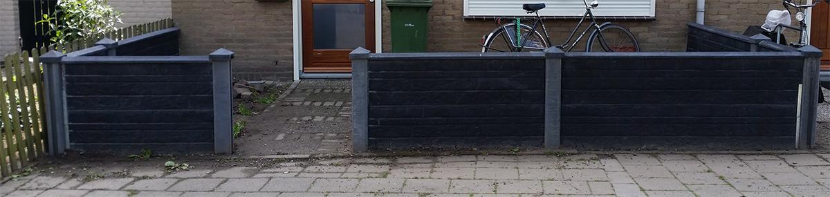 schipbeekstraat nijmegen schutting