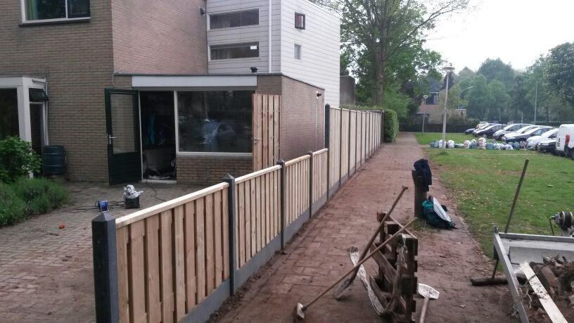 Grenen schutting Nijmegen