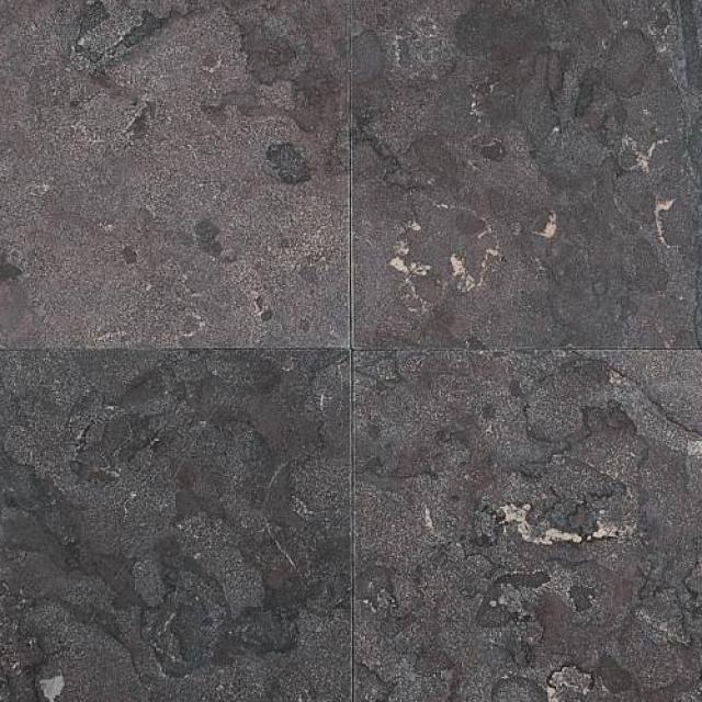 Hardsteen Tegels Siam Bluestone Getrommeld 50x50x3 Blauwsteen