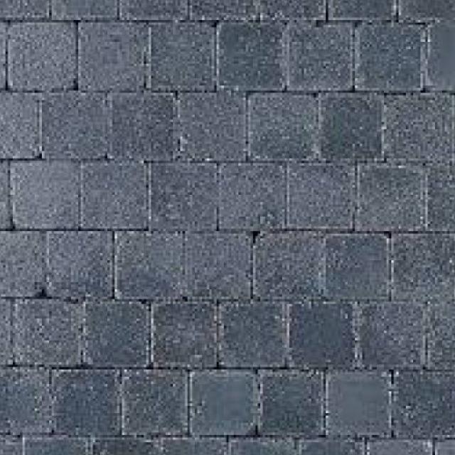 Klinkers Stenen Abbeystones Getrommeld 10x10x6cm Antraciet
