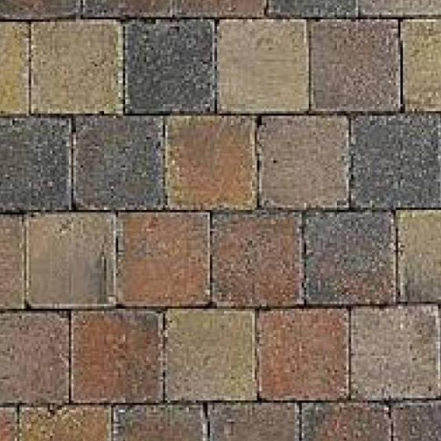 Klinkers Stenen Abbeystones Getrommeld 10x10x6cm Bont