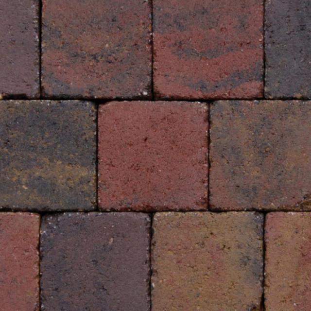 Klinkers Stenen Abbeystones Getrommeld 14x14x6cm Bont