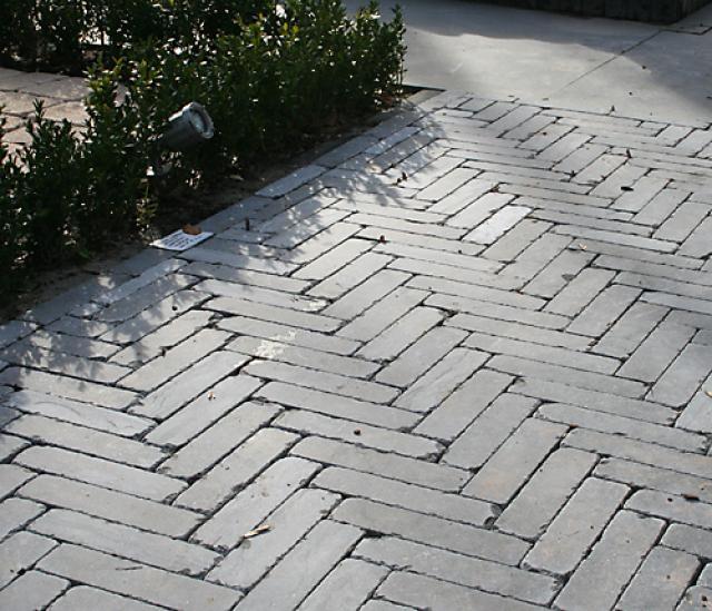 Chinees hardsteen klinkers 20x5x2,5cm