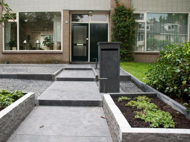 Chinees hardsteen terrastegels 100x100x3 cm gezoet/getrommeld