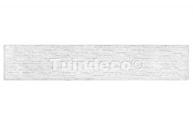 Onderplaat leisteenmotief wit/grijs