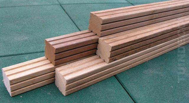 Hardhout Azobe paal 6.5x275