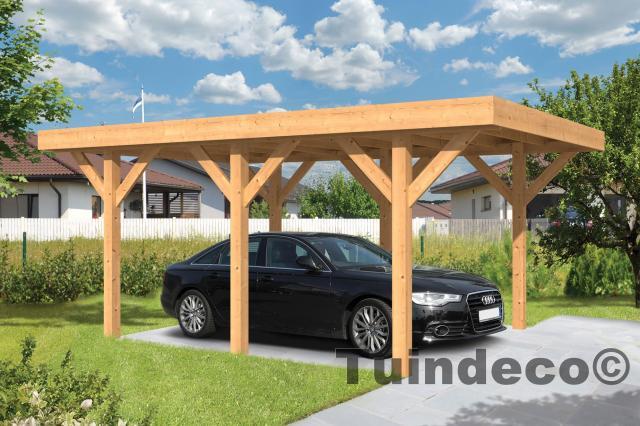 Carport Sloten Platdak