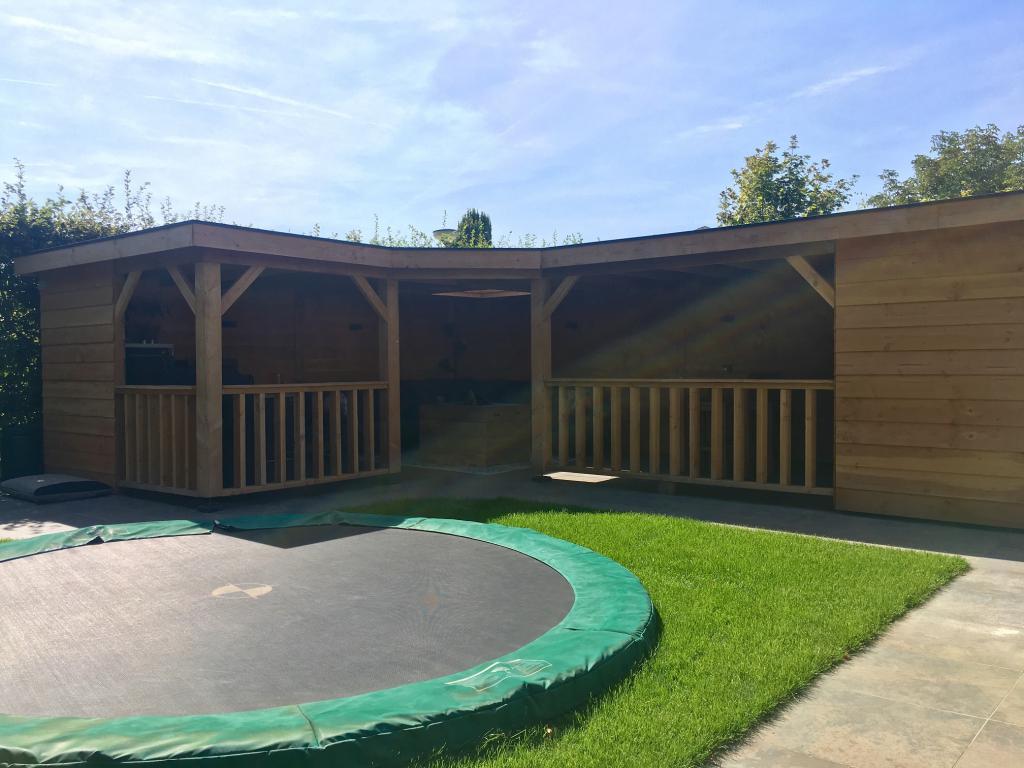 Tuinhout Centrum project - Complete tuin Heteren