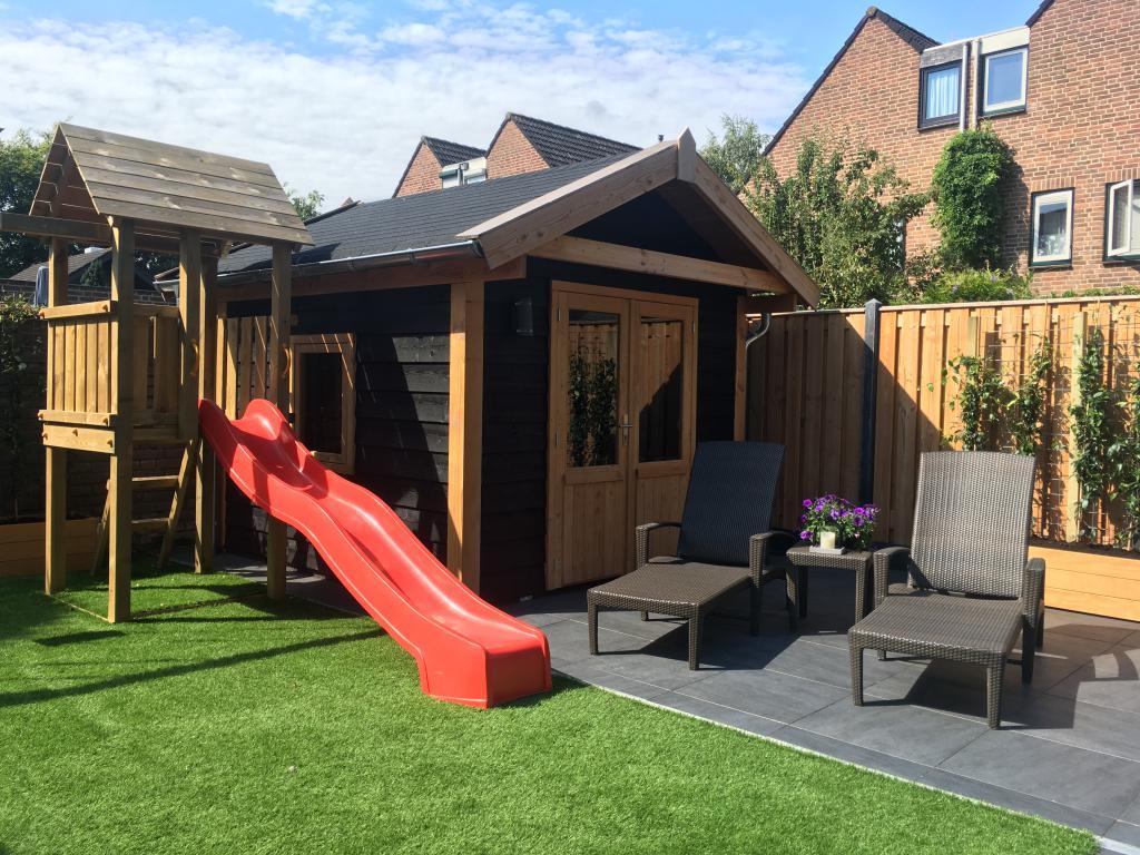 Tuinhout Centrum project - Complete tuin Wijchen